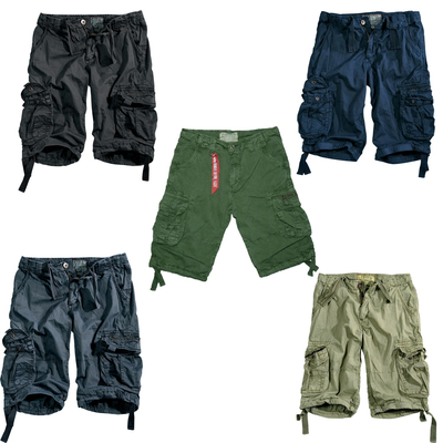 Alpha Industries Cargo Shorts Jet Short