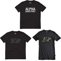 Alpha Industries T-Shirt Camo Print T