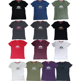 Alpha Industries T-Shirt New Basic T Women