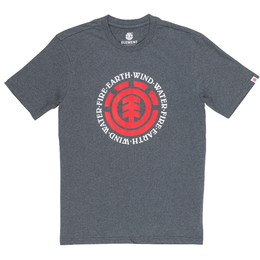 Element T-Shirt Seal SS M Grau