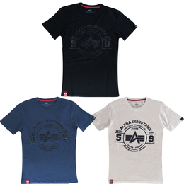 Alpha Industries T-Shirt Authentic Vinyl T